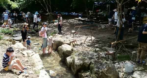 帝釈峡水辺公園